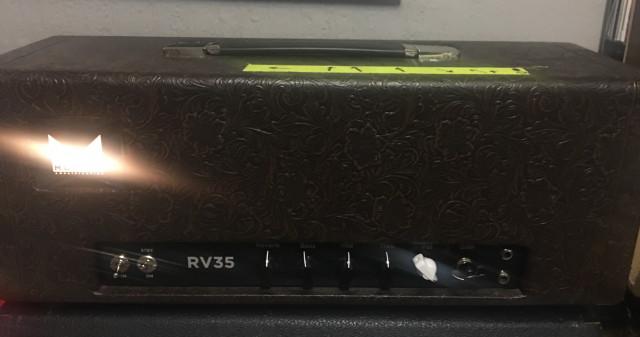 Morgan RV35 Head + Flight Case