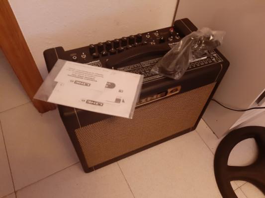 bogner Line 6 DT25 + POD HD500X