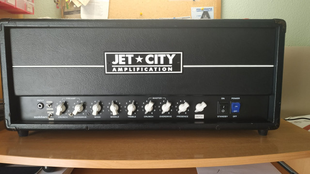 Jet City JCA 50H modificado