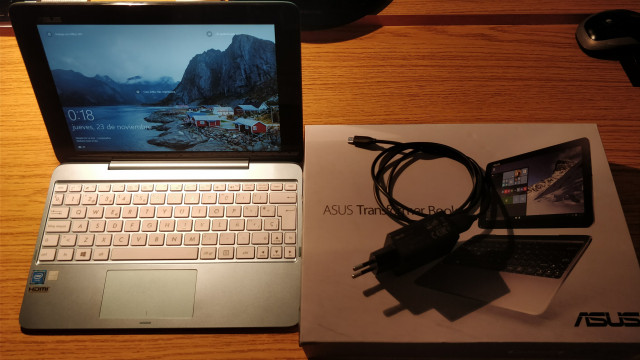 Portátil Tablet Convertible Asus T100HA