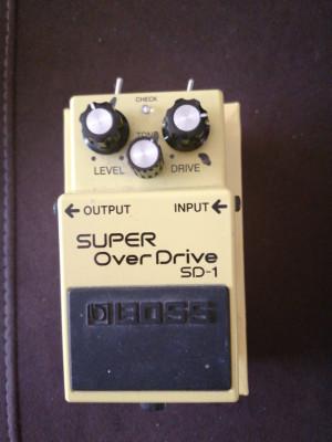 Boss SD 1 con 2 Modificaciones Hidalgo Sound Boutique