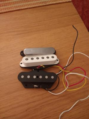 Set Tex Mex de una Fender Telecaster Nashville Deluxe