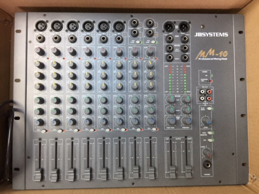 MESA DE MEZCLAS JB SYSTEMS MM-10 NUEVA