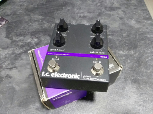 TC ELECTRONIC VINTAGE DUAL OVERDRIVE