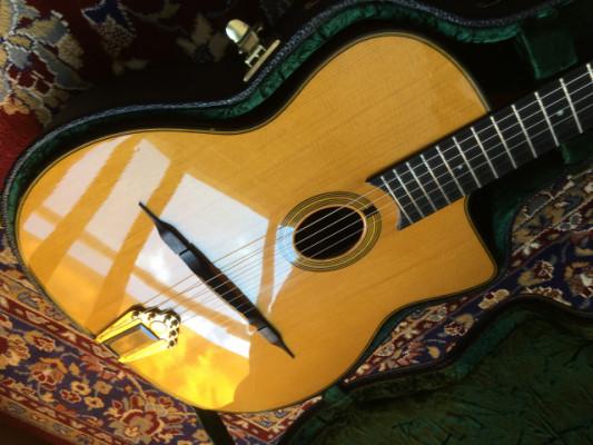 Saga Gitane DG-255 Guitarra de Gypsy Jazz (Django Reinhardt)