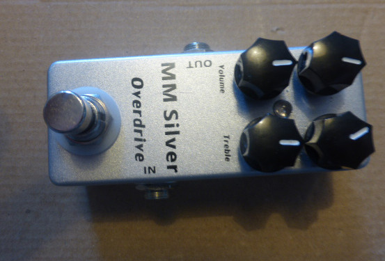 Overdrive Mosky silver . True bypass