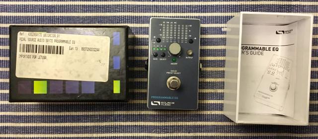 Source Audio Pedal Eq digital programable