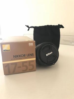 Objetivo Nikkor DX 17-55 f/2.8