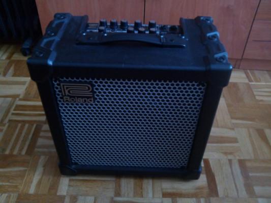Ampli de guitarra Roland cube 20X