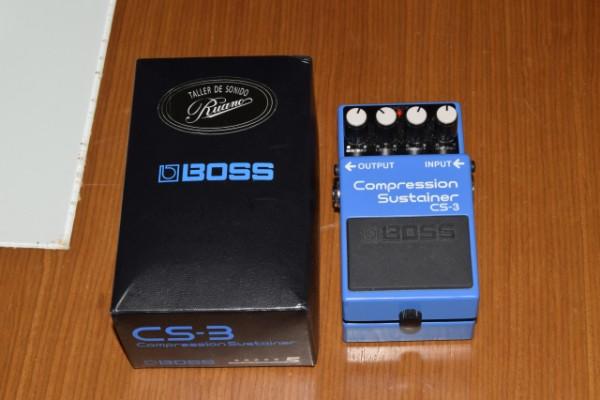pedal guitarra boss cs-3 compressor