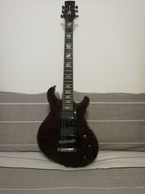 Vendo Charvel Dc1 ST Red