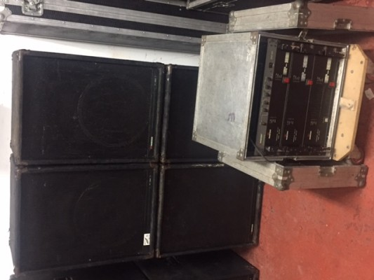 Vendo un equipo Musicson IP 880. Tres vias pasivas 2000W RMS