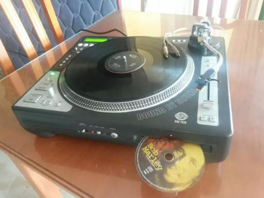 Reproductor DJ vinilo / CD US Blaster