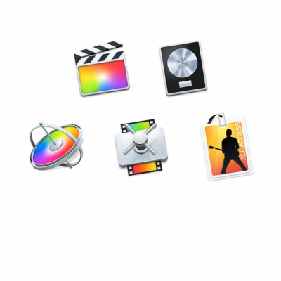 Final Cut Pro X + Logic Pro X + Motion + Compressor + Mainstage 3  (pack de 5 aplicaciones profesionales de Apple)