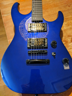 Guitarra eléctrica Washburn  GTRA X-100/MBL