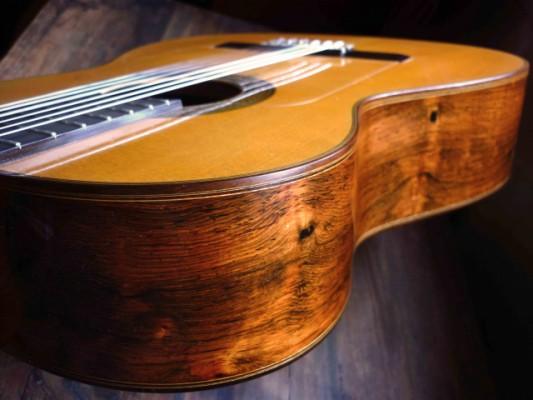 Guitarra Flamenca -  Antonio Marín  con CITES (Brazilian)