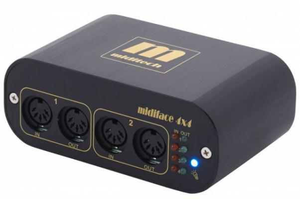 Interface MIDI Miditech MIDIface 4x4