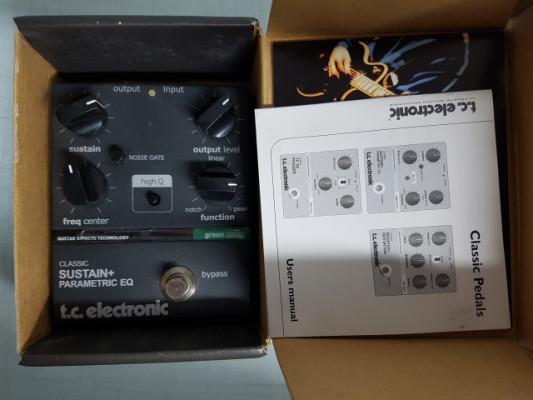 Tc electronic classic parametric sustainer eq