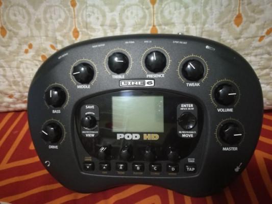 Vendo POD HD (cambio x Zoom G5)