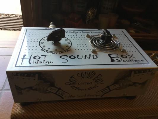 """Atenuador de 4, 8,16 ohms """"Hot Sound Box - Twe12e""""."""