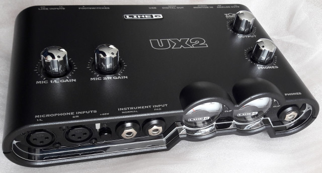 Interfaz Line 6 UX2