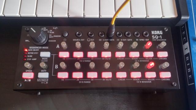 Korg SQ 1 sequenciador