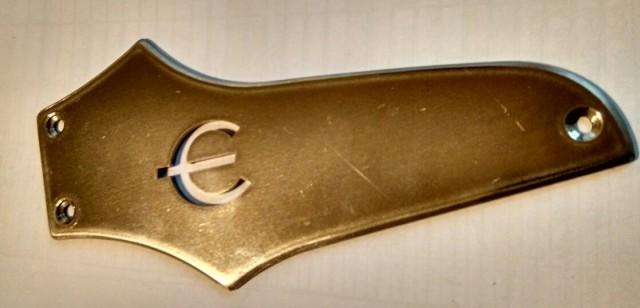 Placa acero Epiphone (para Epi Thunderbird)