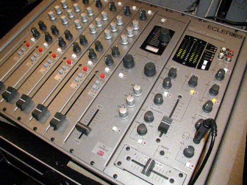 X Ecler Sclat 8 modelo 1996 módulos phono / cd