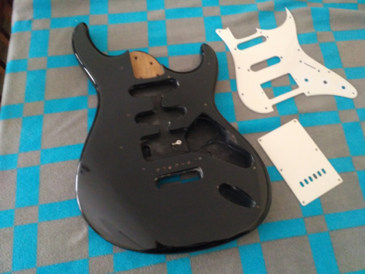 Cuerpo de guitarra tipo stratocaster