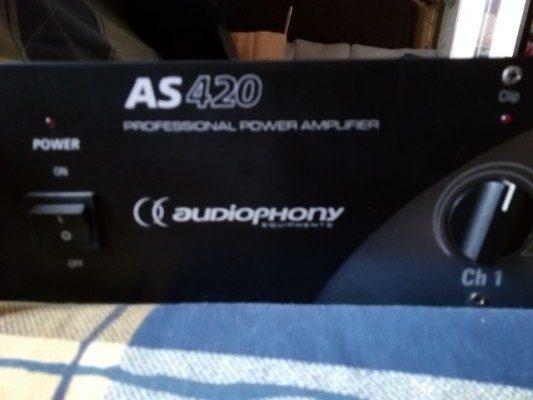 POTENCIA AUDIOPHONY AS420