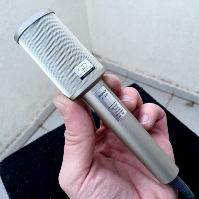 SONY F-99-T Stereo vintage mic + regalo