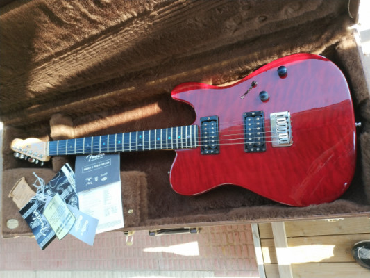 Fender Telecaster American Deluxe FMT HH