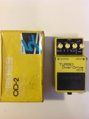 Boss OD-2 TURBO Over Drive. Con caja original.