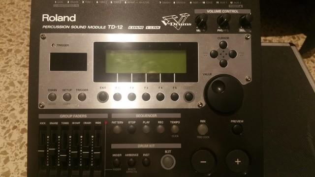 Modulo Roland TD 12