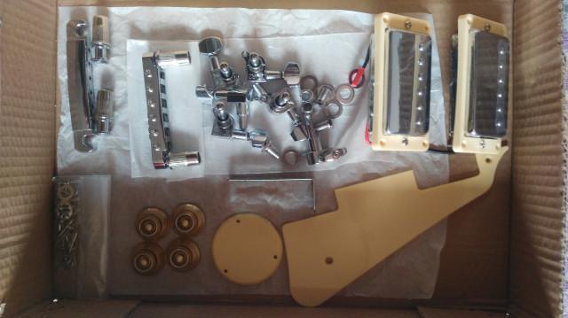 kit para guitarra eléctrica