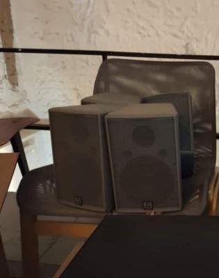 Martín audio AQ6 + Aqx + australian monitor + SY400 ACTUALIZADO
