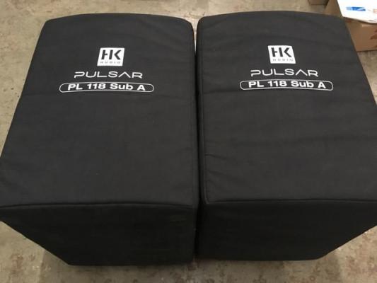 2x Sub HK Pulsar PL118