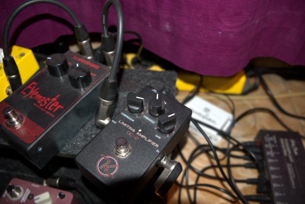 Keeley GC-2 Compressor & Limiting Amp como nuevo. Con envío incluido.