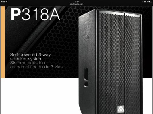 Busco 2 cajas Master Audio P-318A