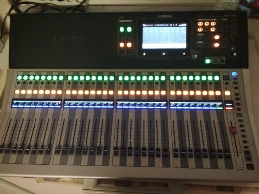 Cambio mesa digital Yamaha TF5 por guitarra.