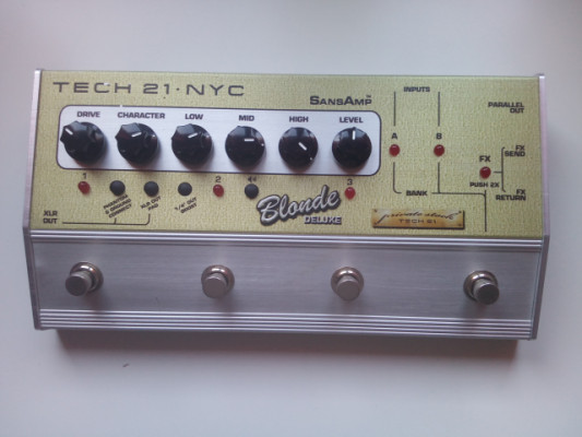 Sansamp BLONDE deluxe (limited edition)