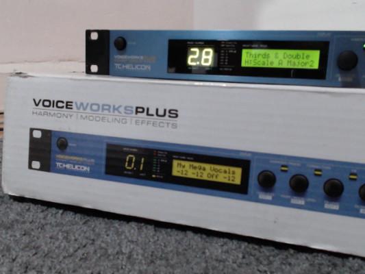 Procesador vocal y multiefectos TC-Helicon Voiceworks Plus