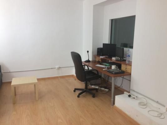 escritorio para estudio de grabación