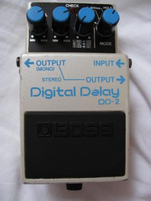 Boss DD-2 Digital Delay MADE IN JAPAN 1985