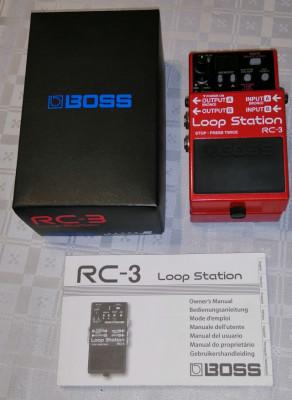 loop station BOSS-RC3 .