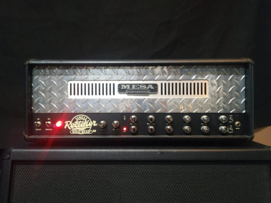 Mesa Boogie Single Rectifier Solo Head 50 + Footswitch