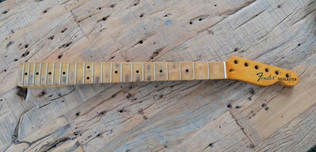 Mástil Telecaster medidas Fender made in CANADA