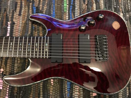Schecter Hellraiser C8 Black Cherry EMG X