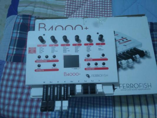 Ferrofish b4000- emulador organo  Hammond
