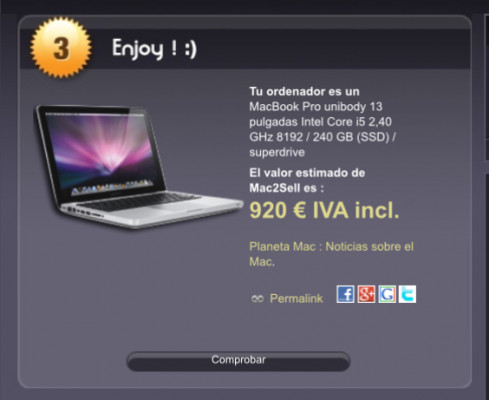 "MacBook Pro 13"" 2011 i5 8Gb ram 240 SSD"